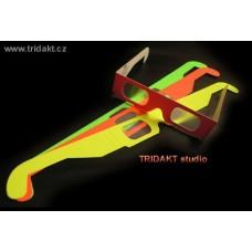 Multispektrální 3D brýle (3D FIREWORKS)